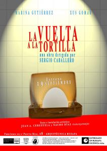 Cartel LA VUELTA A LA TORTILLA 1